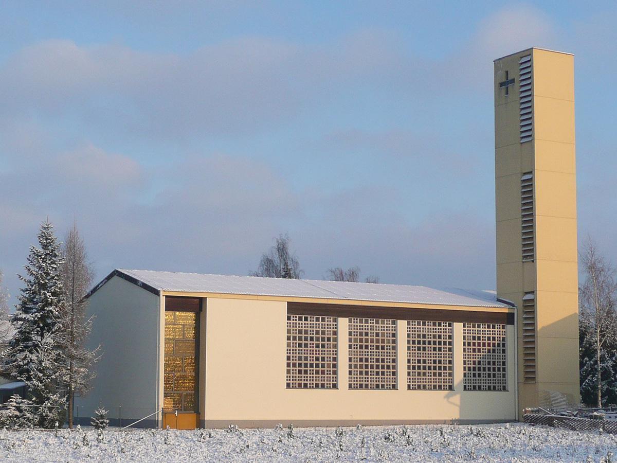 Kirche im Winter 2010